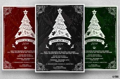 Christmas Invitation Template V5