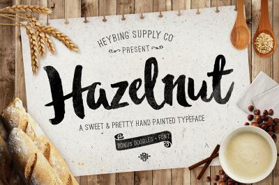 Hazelnut Typeface + Extras