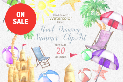 ON SALE, Hello summer doodles