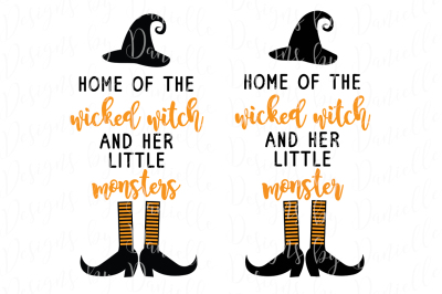 Home of the Wicked Witch SVG Cutting File
