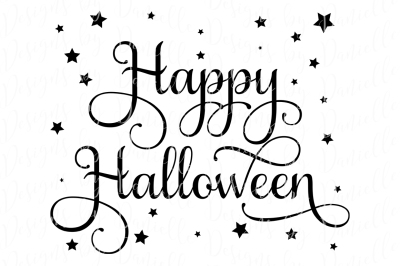 Happy Halloween SVG Cutting File