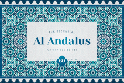 Al Andalus Moroccan Mosaic Seamless Patterns