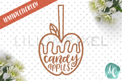 Candy Apples / SVG PNG DXF
