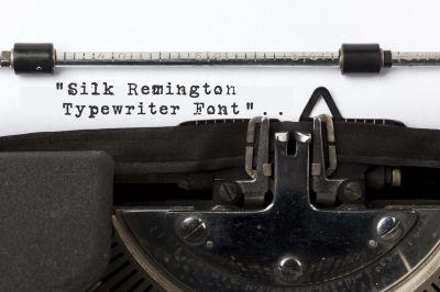 Silk Remington-Typewriter