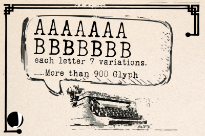 typrighter-Revolution in typewriter Fonts