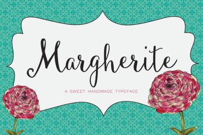 Margherite Script + Bonus Frames