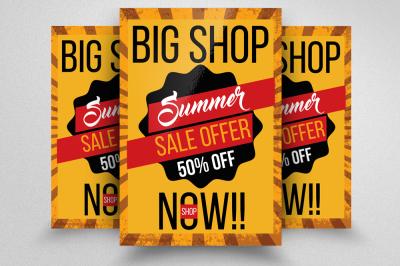 Big Sale Offer Flyer