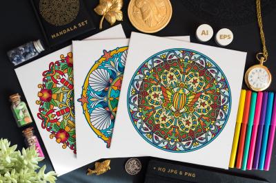 Seasonal and Holiday Mandalas