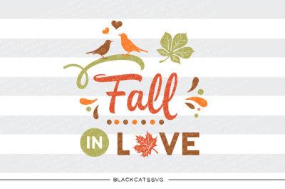 Fall in love - SVG file