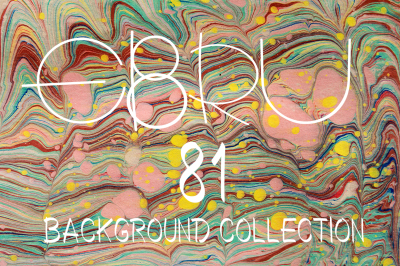 81 EBRU background bundle