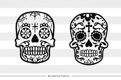 Sugar skulls - SVG file Day of the dead svg