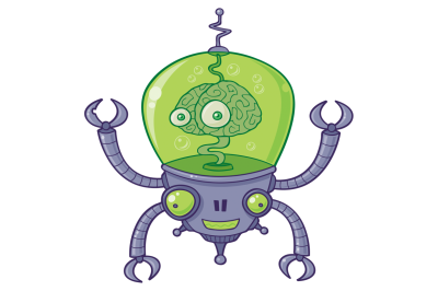 Brainbot Robot With Brain