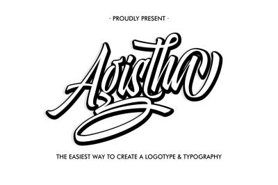 Aghista Logotype