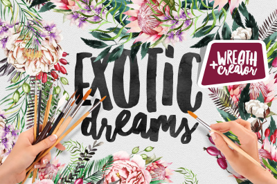 Exotic Dreams | Wreath Creator