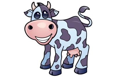 Dairy Cow Cartoon