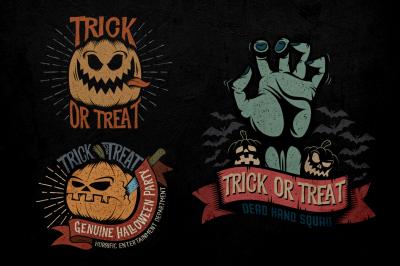 Halloween Logo Pack