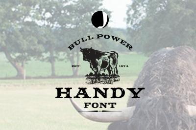 Handy-Retro Font