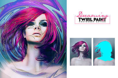 Dreaming - Twirl Paint Action