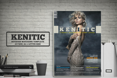 Kenitic - Magazine Template
