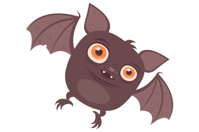 Batty Vampire Bat Cartoon