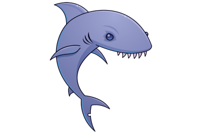 Sharky Cartoon Shark
