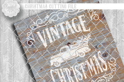Vintage Christmas ~ Cutting Design