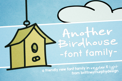 Another Birdhouse Font Family