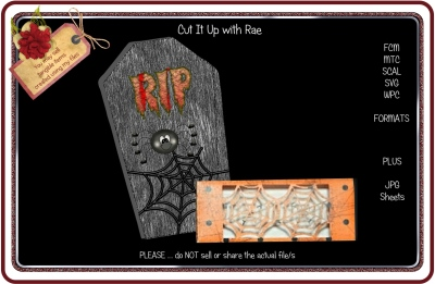 130 Halloween Treat Boxes HAND and MACHINE Formats