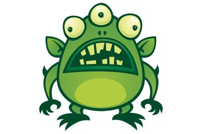 Ugly Alien Monster