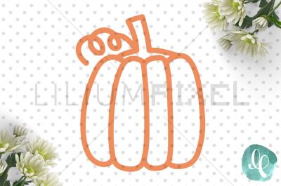 Pumpkin  / SVG PNG DXF