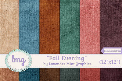 Fall Digital Paper Backgrounds