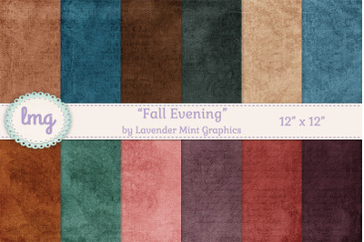 Fall Digital Paper Backgrounds