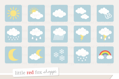 Weather Icon Clipart