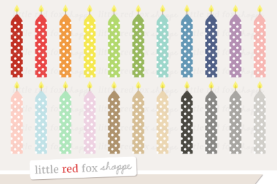 Birthday Candle Clipart