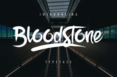 BloodStone Typeface
