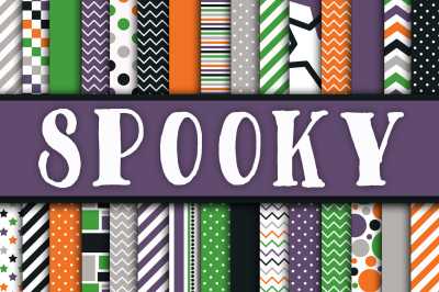 Spooky Digital Papers