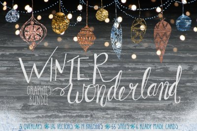 Winter Wonderland Graphics Bundle