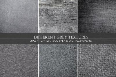 WINTER SALE! Different grey textures