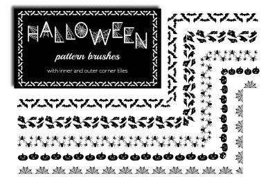 Halloween Pattern Brushes
