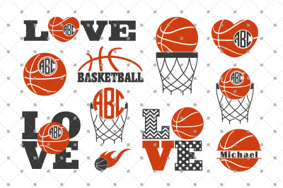 Basketball SVG Files