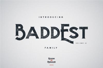 Baddest Family - Vol.1