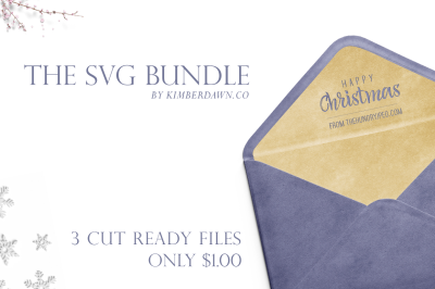 3x Festive SVG Files