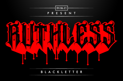 Ruthless Typeface