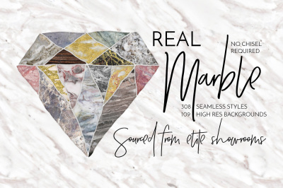 Real Marble Backgrounds & Seamless Styles