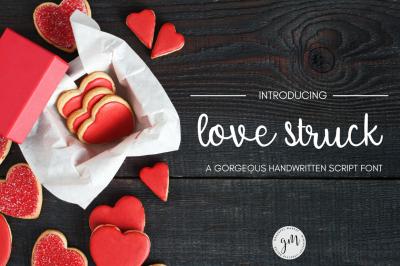 Love Struck Script Font