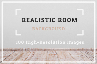 100 Realistic Room Background Set 1