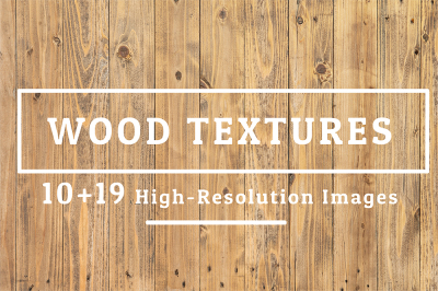 10+19 Wood Texture Background Set 01