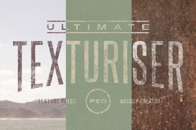 Ultimate Texturiser PSD (20% OFF)
