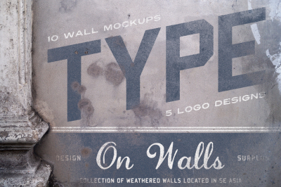 Type On Walls (+BONUS Logos)