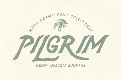 Pilgrim Font Collection (3 Fonts)
